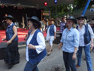 Line Dancer der Country & Line Dance Gruppe Kiel